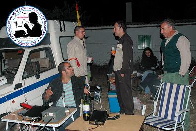 Juan Luis, Iván, Fran y Paco